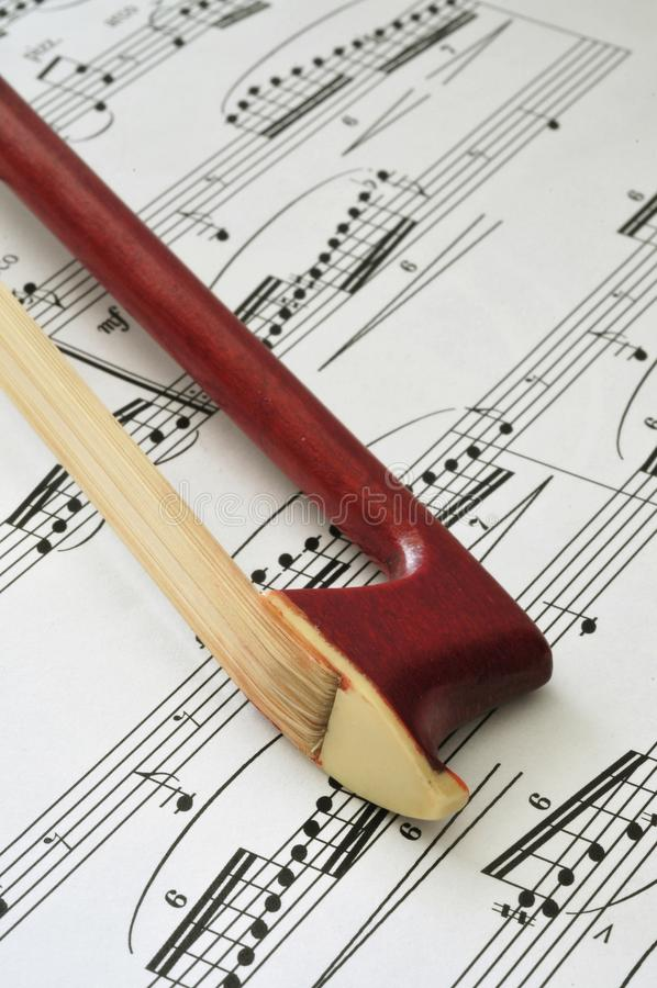 Ponta da curva de violino fotos de stock