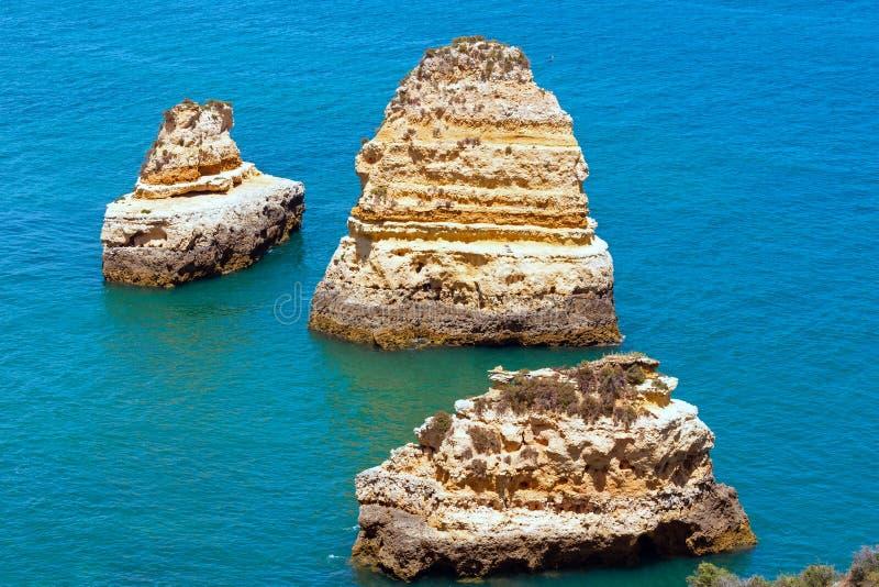 Download Ponta Da Piedade Cape& X28; Lagos Algarve, Portugal& X29; Arkivfoto - Bild av seascape, sommar: 76702230