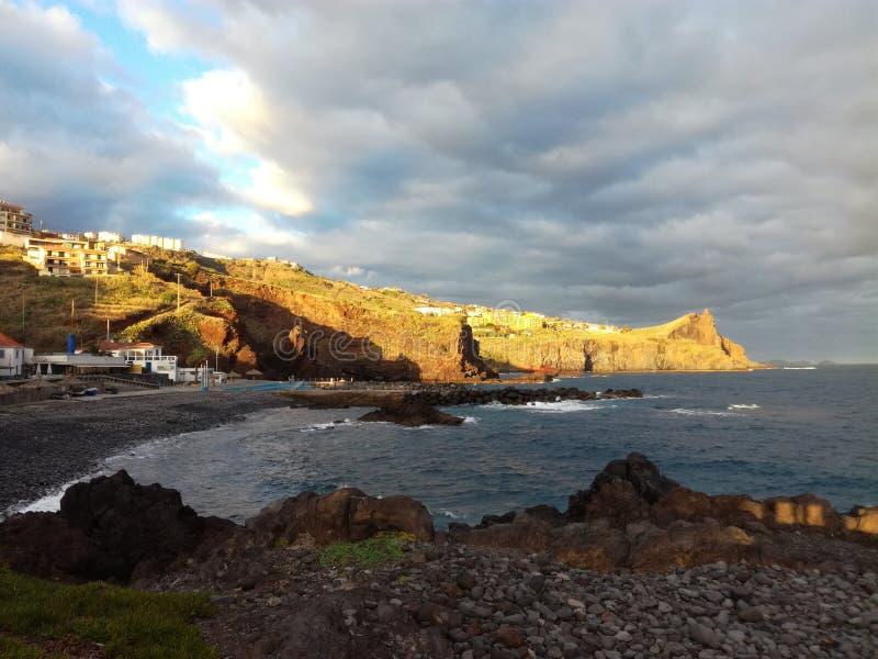 Ponta de Atalaia 免版税库存照片