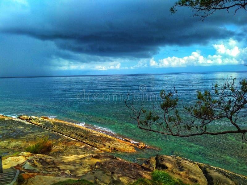Ponta de Bornéu imagens de stock