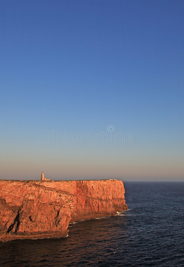 ponta de lighthouse sagres στοκ φωτογραφία με δικαίωμα ελεύθερης χρήσης