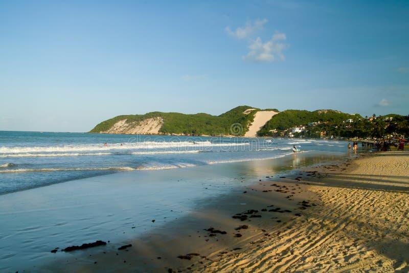 ponta de negra de plage photo stock