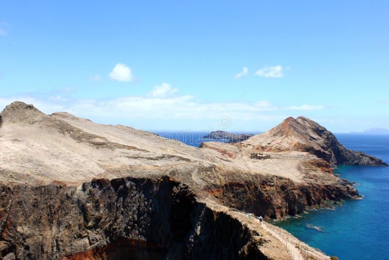Ponta de Sao Lourenco, ilha de Madeira, Portugal imagem de stock royalty free