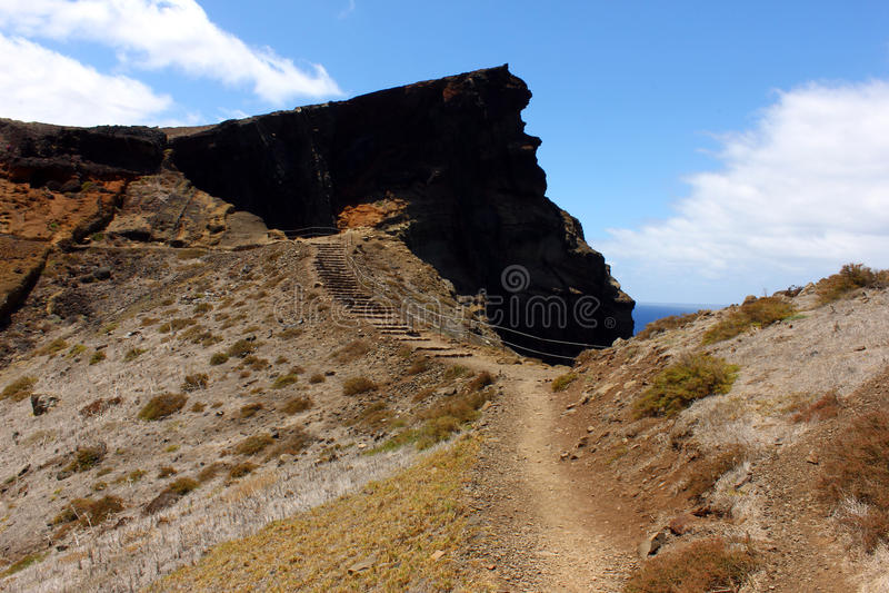 Ponta de Sao Lourenco, isla de Madeira, Portugal fotos de archivo libres de regalías