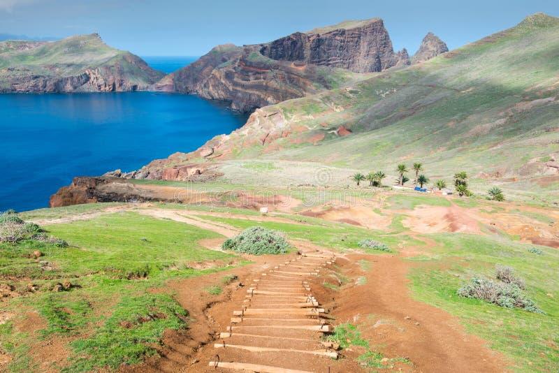Ponta de Sao Lourenco, isla de Madeira (Portugal) imagen de archivo