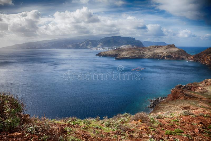 Ponta de Sao Lourenco - Madeira, Portugal fotos de stock royalty free