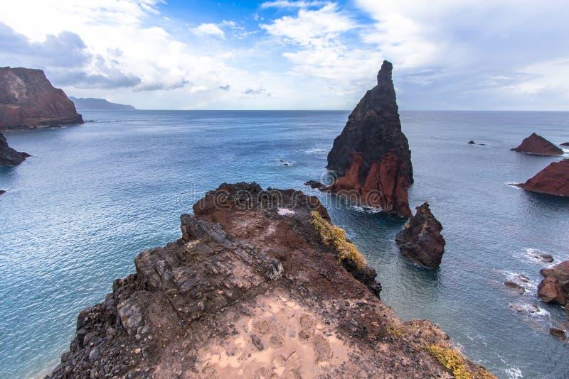 Download Ponta DE Sao Lourenco, Madera, Portugal Stock Afbeelding - Afbeelding bestaande uit atlantisch, schiereiland: 107701179