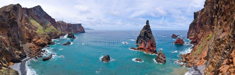 Ponta de Sao Lourenco peninsula, MadRocks of Ponta de Sao Lourenco peninsula - Madeira island. Rocks of Ponta de Sao Lourenco peninsula, Madeira island, Portugal stock image