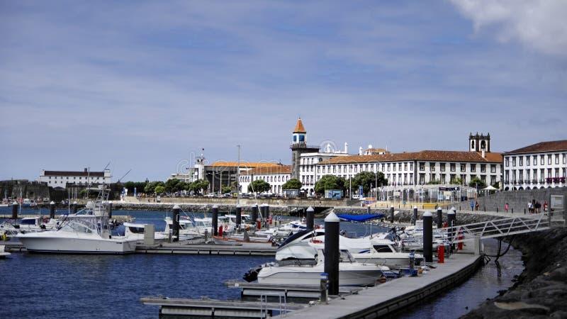 Ponta Delgada stock afbeelding