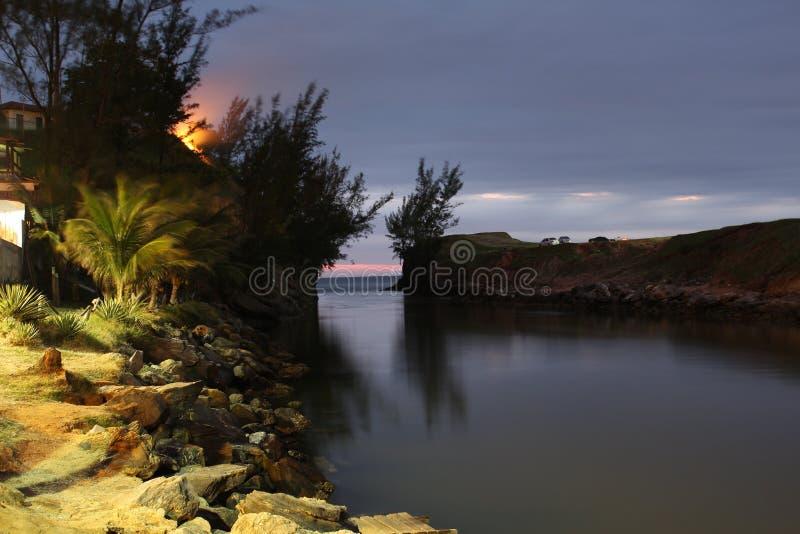 Ponta Negra el Brasil fotografía de archivo libre de regalías