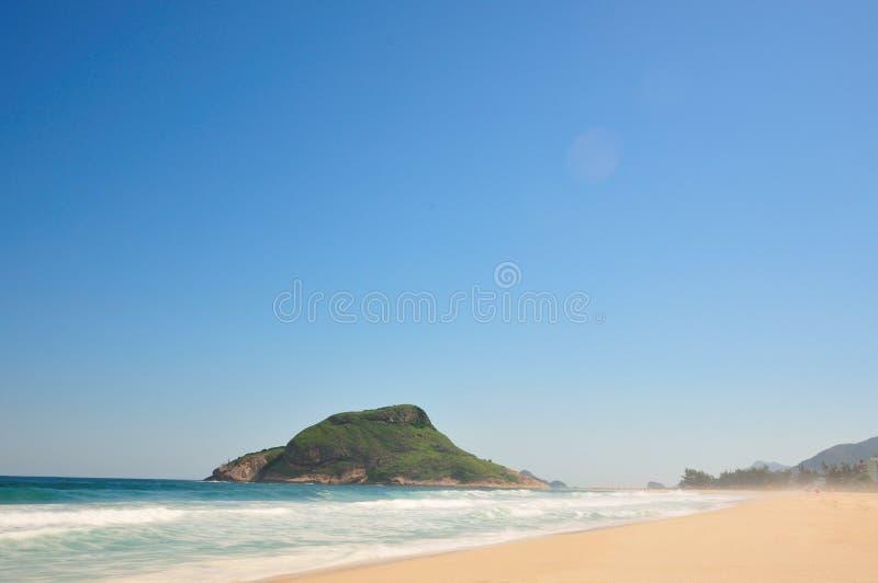 Pontal plaża - Rio De Janeiro obraz stock