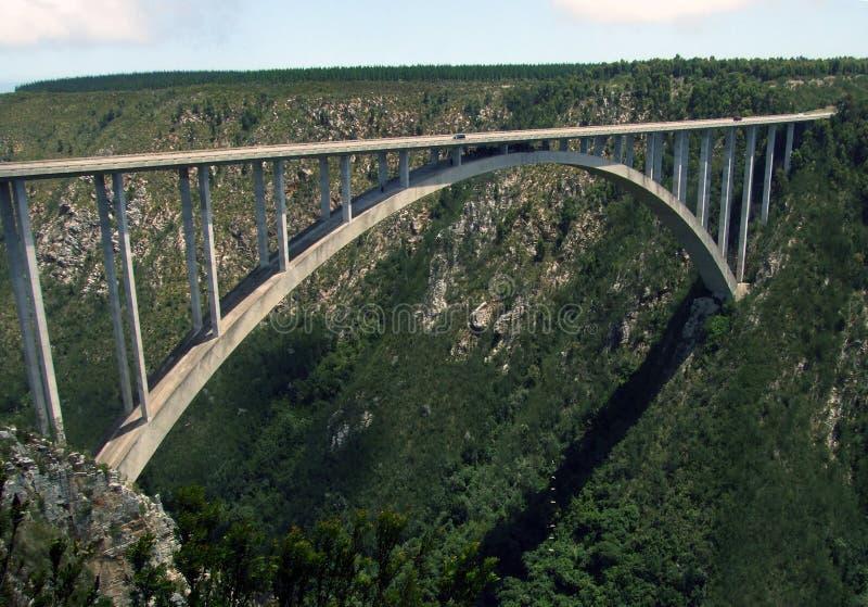Ponte África do Sul de Bloukrans fotografia de stock royalty free