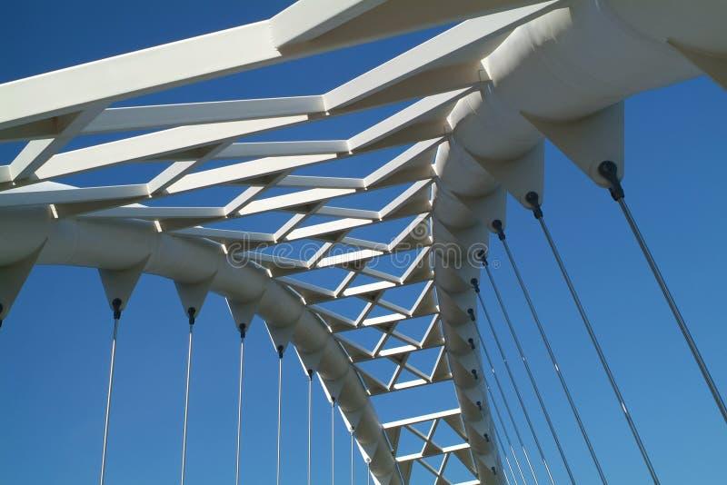 Ponte 1 do céu fotografia de stock