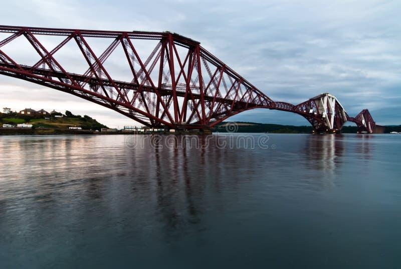 Ponte adiante Railway fotografia de stock