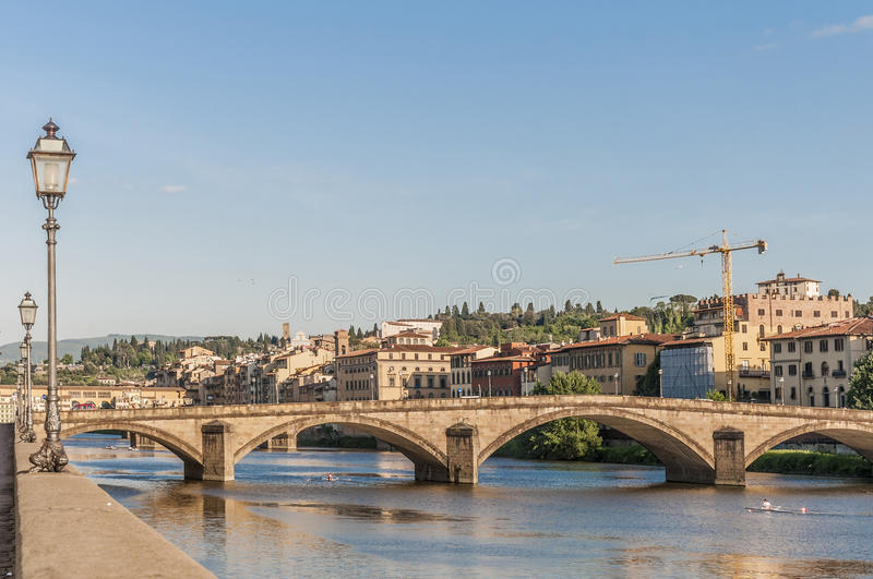 Download The Ponte Alla Carraia Bridge In Florence, Italy. Stock Photo - Image of history, florence: 39509412