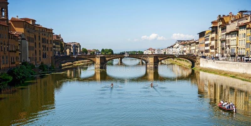 Ponte Alle Trinita stock images