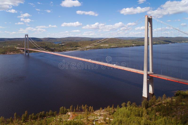A ponte alta da costa fotos de stock royalty free