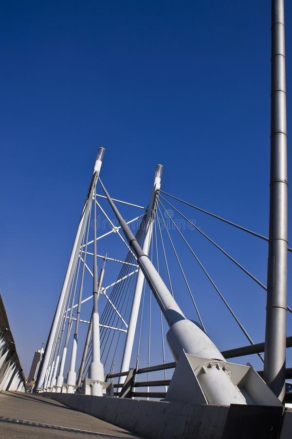 Ponte & passagem de suspensão fotografia de stock royalty free
