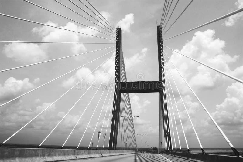 Ponte ardente foto de stock