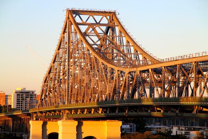 Ponte Austrália da história foto de stock