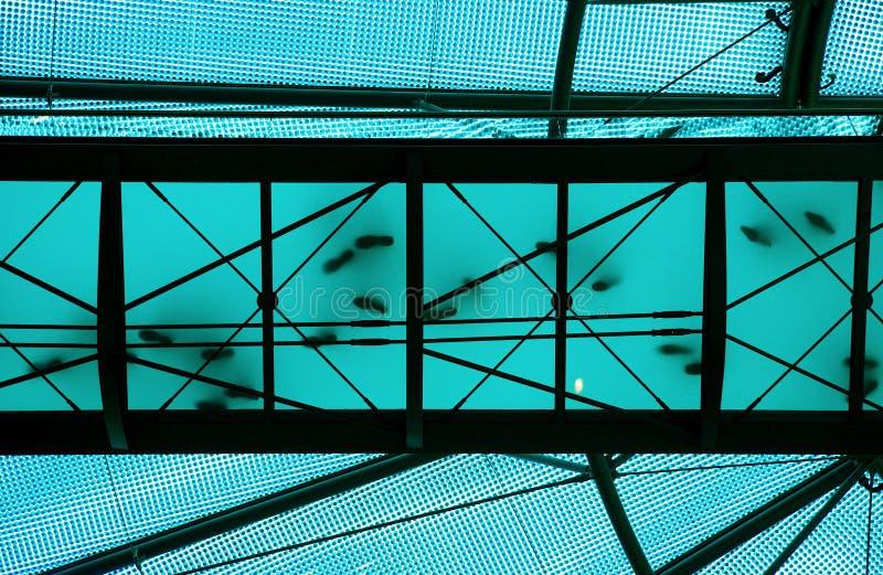 Ponte azul transparente fotos de stock