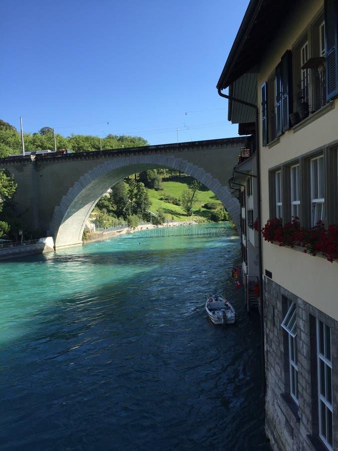 Ponte a Berna fotografie stock libere da diritti