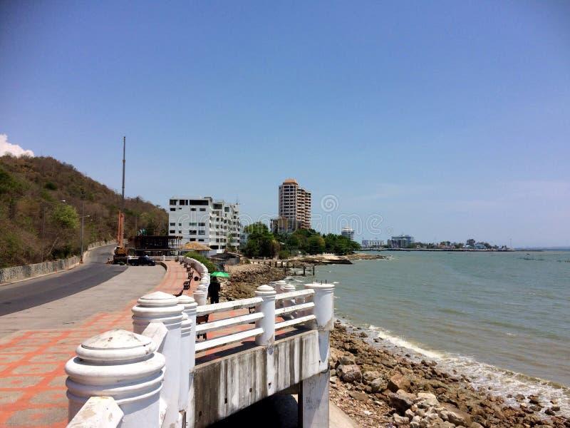 Ponte bonita em Rayong, Tailândia imagem de stock royalty free