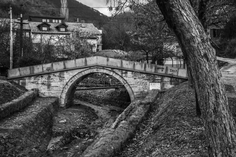 Ponte branca, ponte do amor imagem de stock