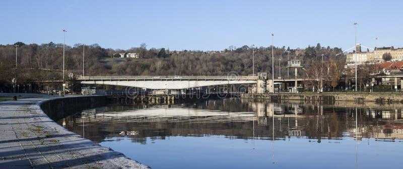Ponte Bristol de Plimsoll imagens de stock