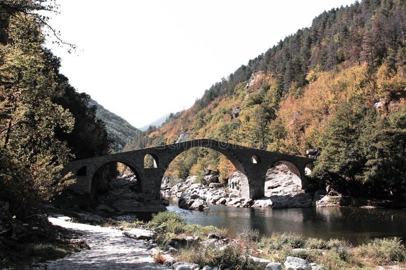 Ponte Bulgaria del diavolo fotografia stock