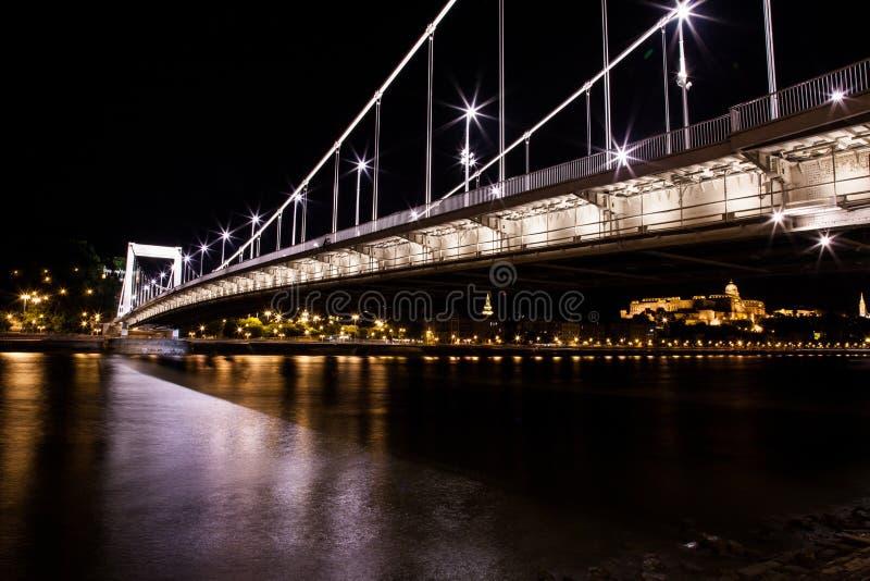Ponte a catena di Budapest immagini stock