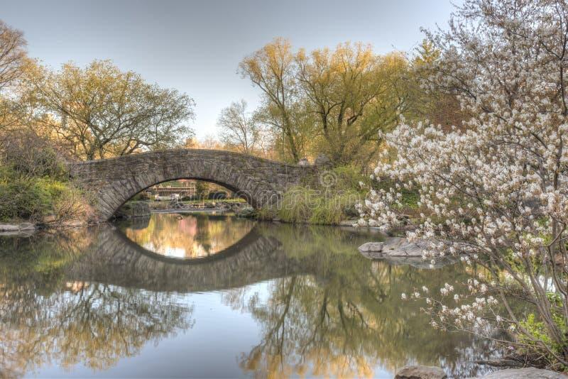 Ponte Central Park de Gapstow, New York City imagens de stock