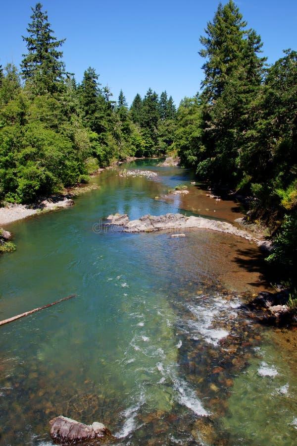 Ponte coberta - rio imagens de stock royalty free