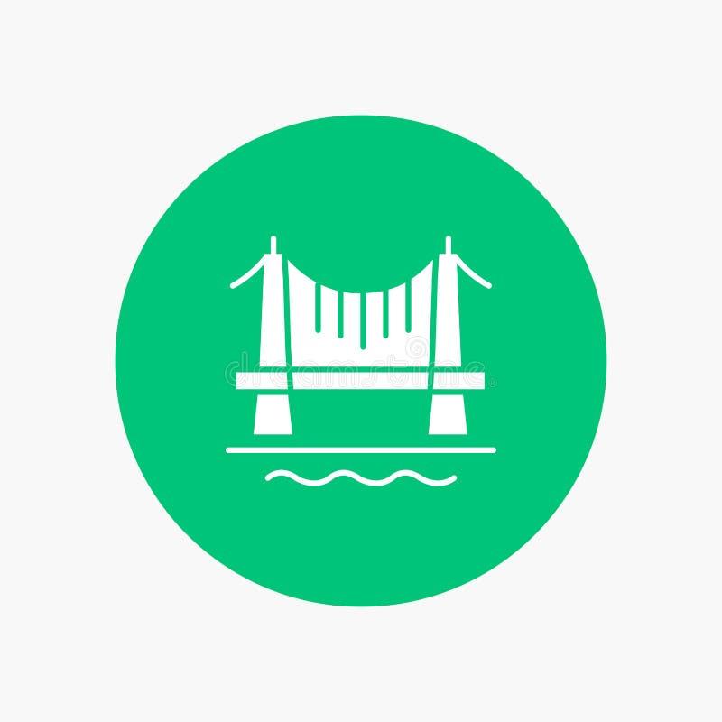 Ponte, construção, cidade, arquitetura da cidade ilustração stock