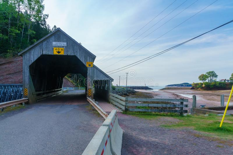 Ponte coperto a St Martins fotografia stock
