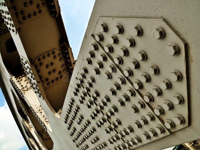 Ponte Costruction imagem de stock