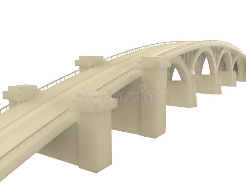 ponte 3d foto de stock royalty free