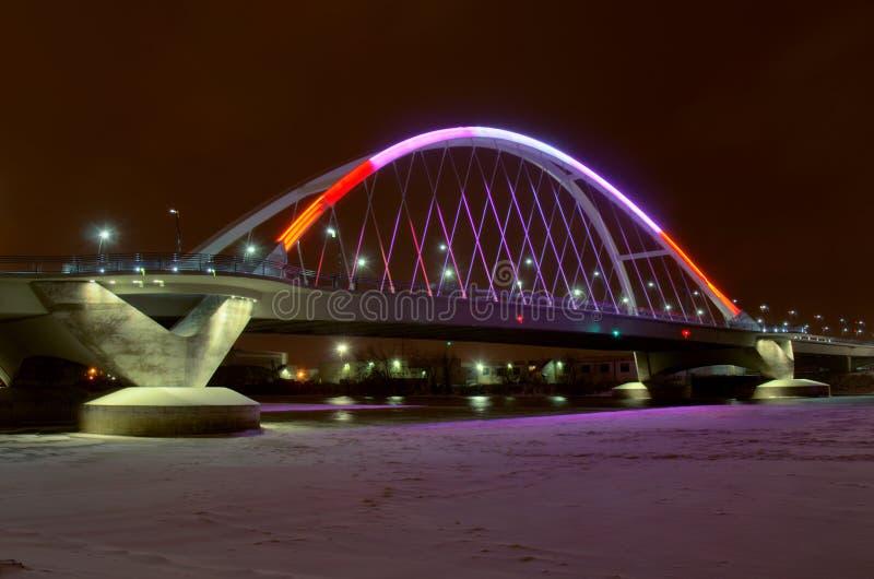 Ponte da avenida de Lowry em Minneapolis fotografia de stock royalty free