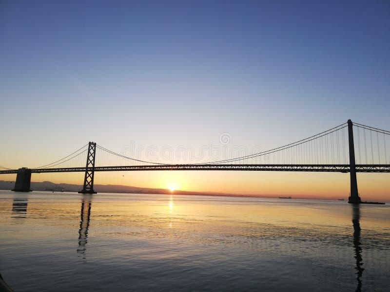 Ponte da ba?a Oakland do ? de San Francisco de ? imagens de stock royalty free