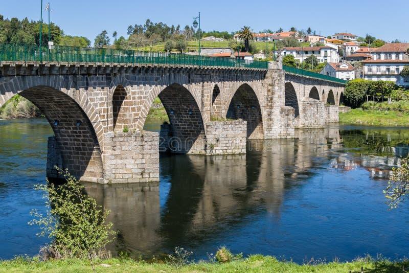 Ponte da Barca Portugal royaltyfri fotografi