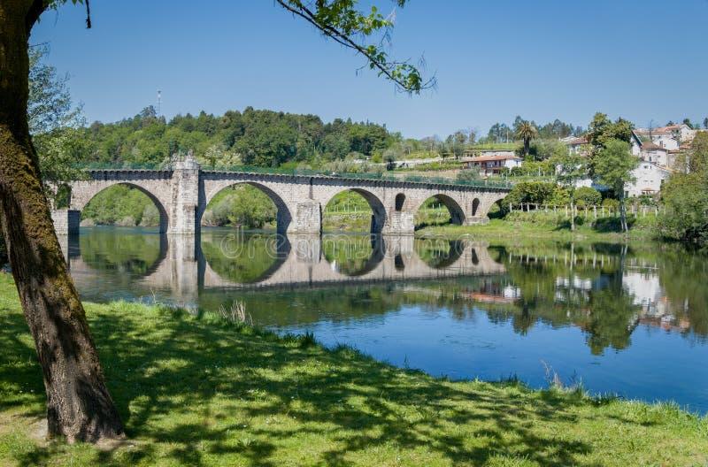 Ponte da Barca Portugalia obraz royalty free