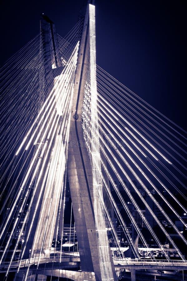 Ponte da cidade de Sao Paulo foto de stock royalty free