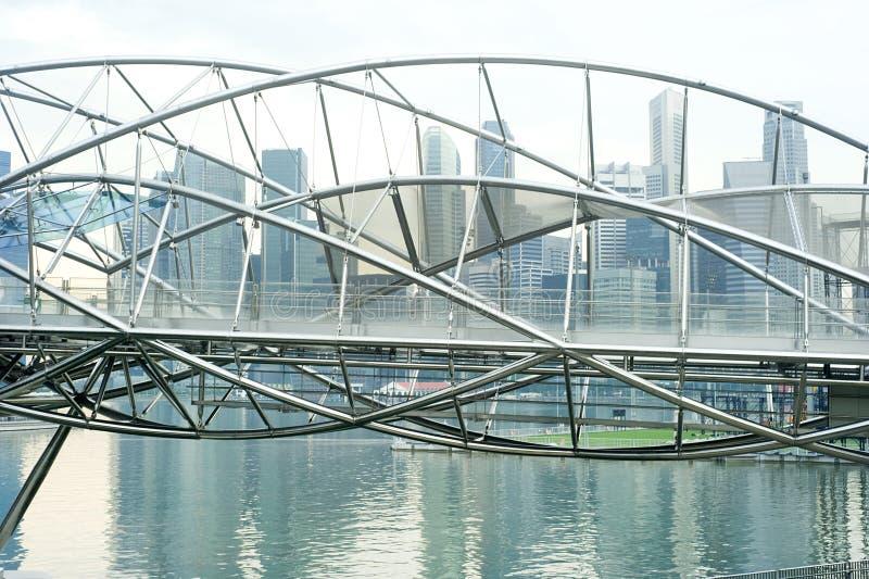 A ponte da hélice foto de stock royalty free