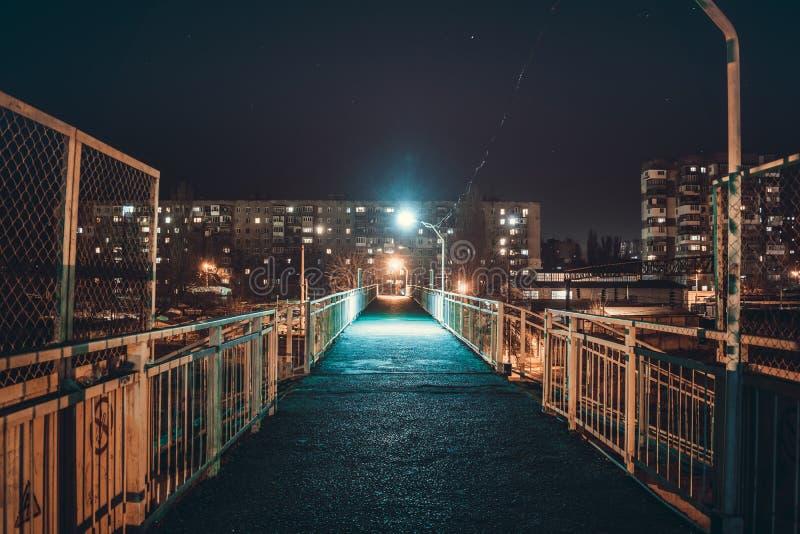 Ponte da noite foto de stock royalty free