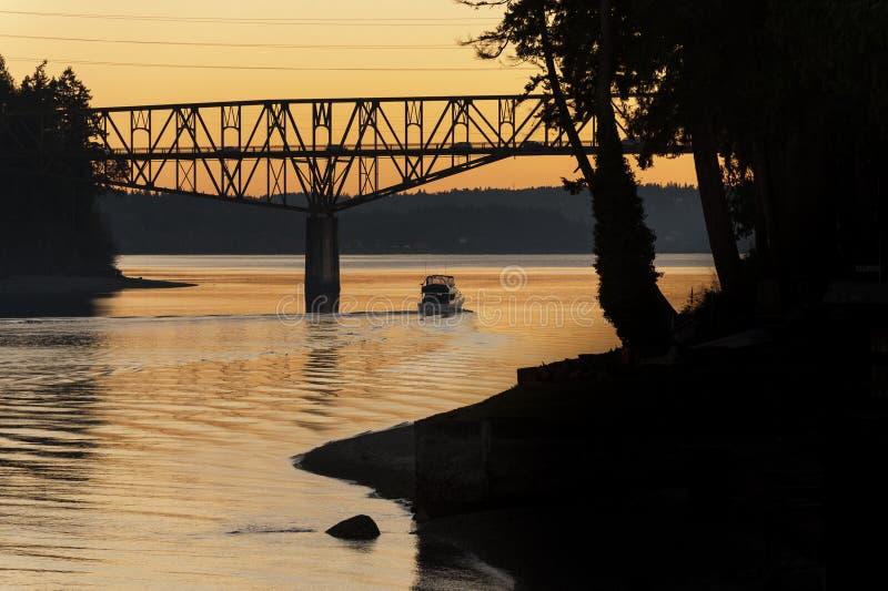 Ponte da passagem da ágata fotografia de stock royalty free