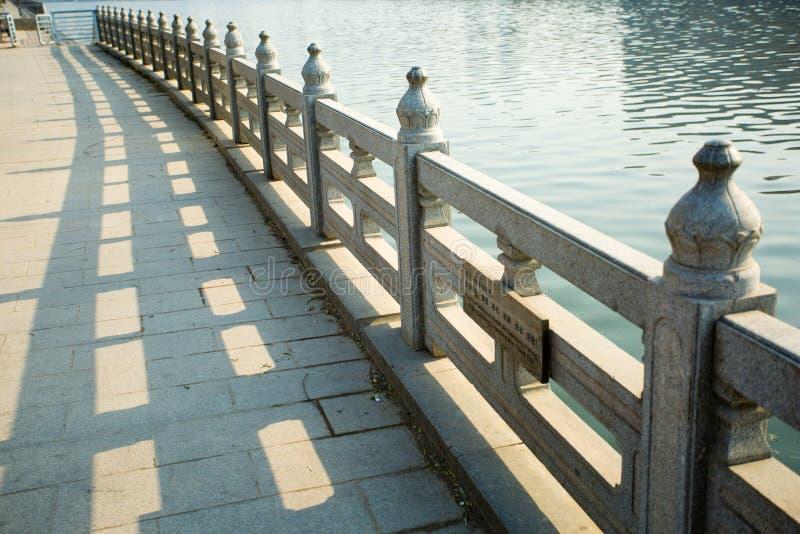 Ponte da pedra de China fotografia de stock