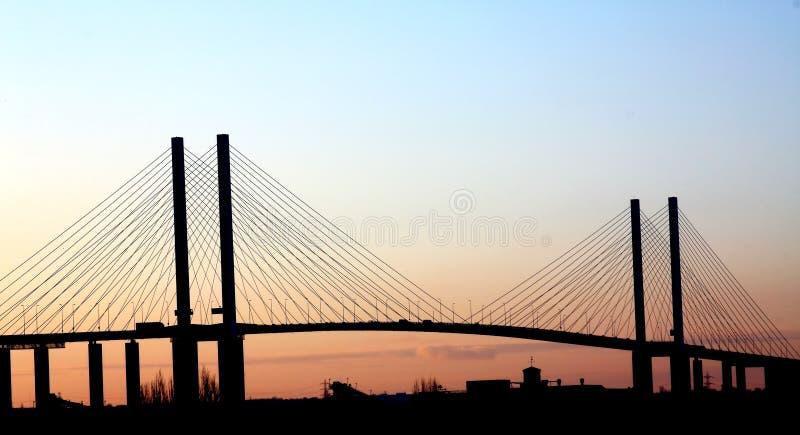 Ponte da rainha Elizabeth 2. fotografia de stock royalty free