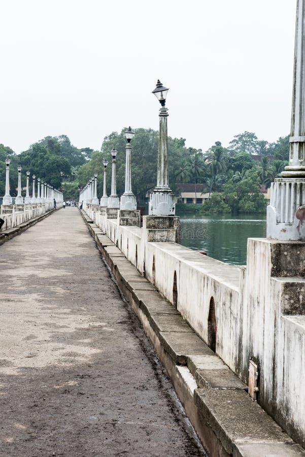 Ponte da represa de Neyyar imagem de stock royalty free