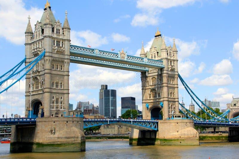 Ponte da torre em Londres imagem de stock