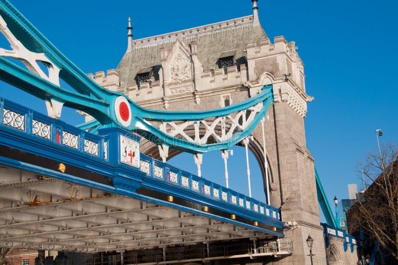Ponte da torre em Londres imagens de stock
